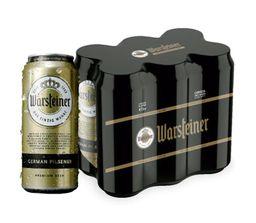 Six Pack Warsteiner Lata 473ml Cerveza