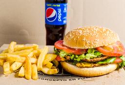 Combo Rappi- Hamburguesa + Papas fritas + Bebida
