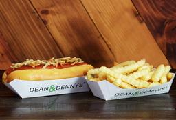 Combo Classic Hot Dog & Papas Clásicas