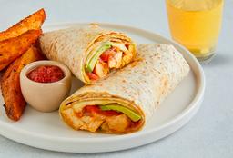 Chicken Roll & Bebida