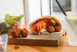 Sándwich Veggie Falafel