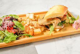 Sándwich Especial de Milanesa Carne