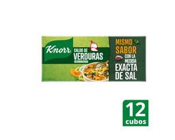 Knorr Caldo Verduras en Cubos