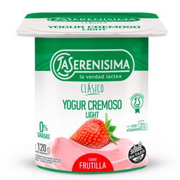 La Serenísima Yogur Descremado Cremoso Frutilla