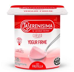 La Serenísima Yogur Entero Firme Frutilla