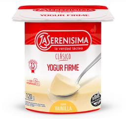 La Serenísima Yogur Entero Firme Vainilla