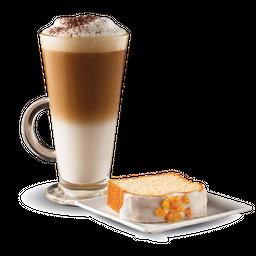Cappuccino + Poundcake