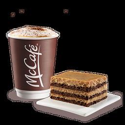 Cappuccino con Cake de Chocolate