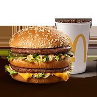 30% OFF Big Mac + Gaseosa Mediana