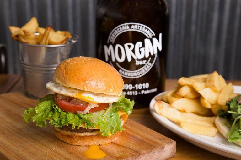 Logo Morgan Bar