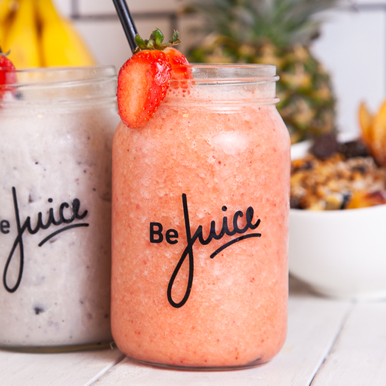 Logo Be Juice