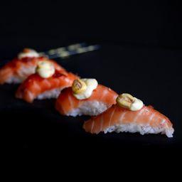 Shiitake Sushi and Wok