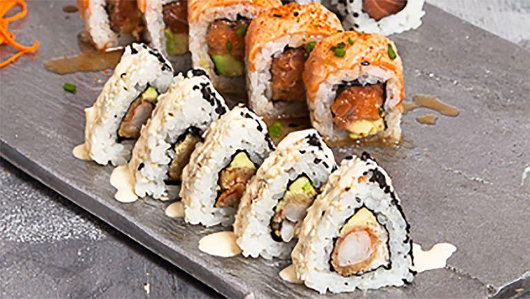 Logo Fly Sushi