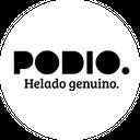 Podio Helado Genuino background