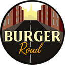 Burger Road background
