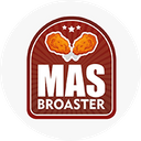 Más Broaster background