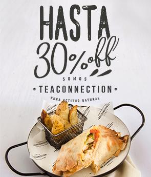 Restaurant -  Tea Connection - Hasta 30% OFF