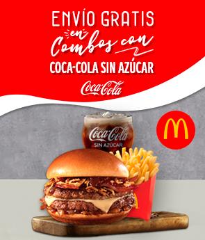 Restaurant - Mc Donalds - Coca Cola