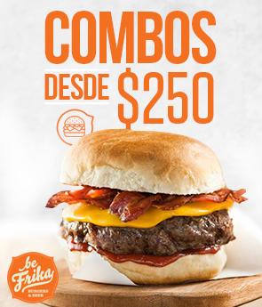 Be Frika - Combos desde $250