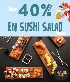 Restaurante - Trending Sushi - Solterín