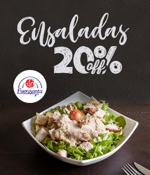 Restaurante - Fuensanta - 20 OFF Ensaladas