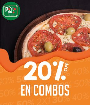 Porto Pizza - 20% off Abril