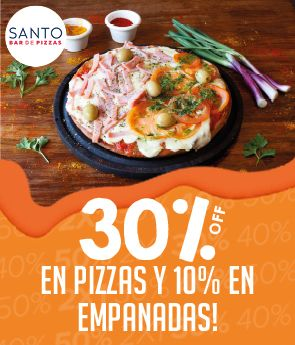 Santo Bar de Pizzas - 30% off