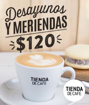 Desayunos & Meriendas $120