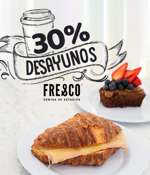 Desayunos Fresco 30%