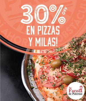 La Farola 30 off Pizzas